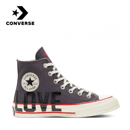 Converse Love Fearlessly Chuck 70 High (Thunder Grey/University Red/Egret)