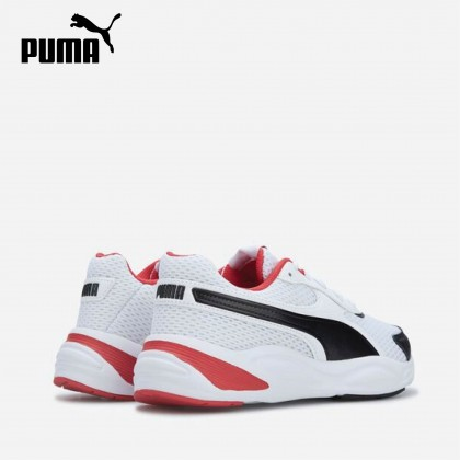 Puma 90s Runner Mesh Jr (White/Red)