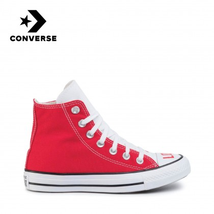Converse Love Fearlessly Chuck Taylor All Star High (White/Red)