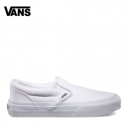 Vans Youth CLASSIC SLIP ON (White)
