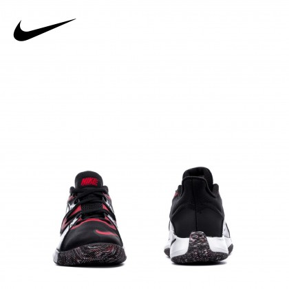 NIKE Unisex FLY.BY MID (Black/Red)