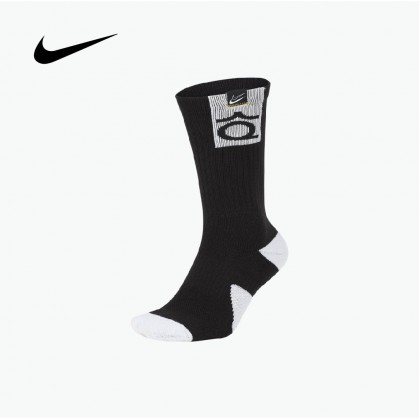 NIKE KD Elite Basketball Crew Socks (Black)