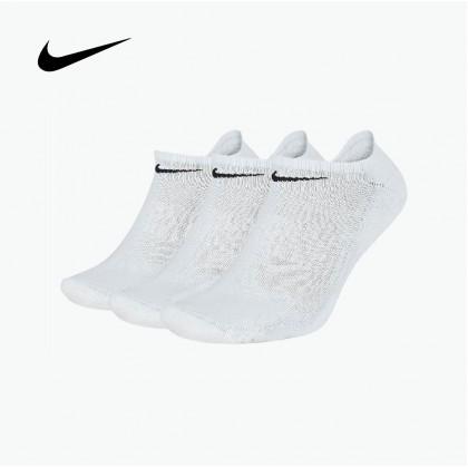 NIKE EVERYDAY CUSHIONED SOCKS (White)