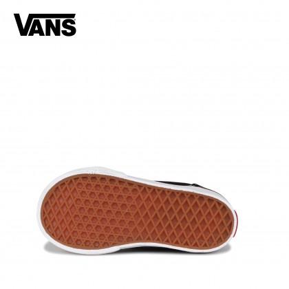 Vans Toodler Old Skool V Shoes (Black/White)