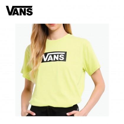 VANS Women AP V-TANGLE OS TEE (Lime)