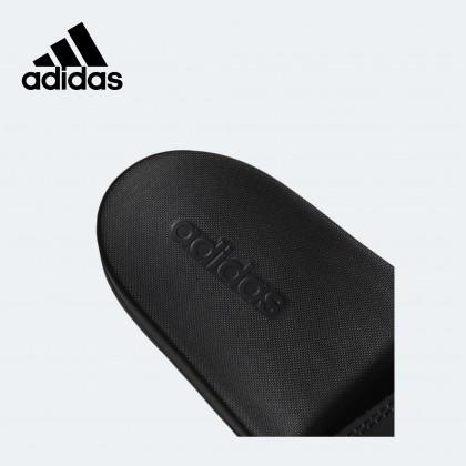 Adidas Adilette Comfort Slides (Black/Gold)