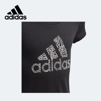 Adidas Badge of Sport Junior Tee (Black)