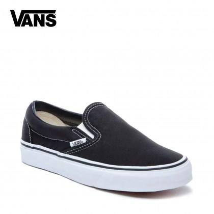 Vans Classic Slip-On Shoes (Black)