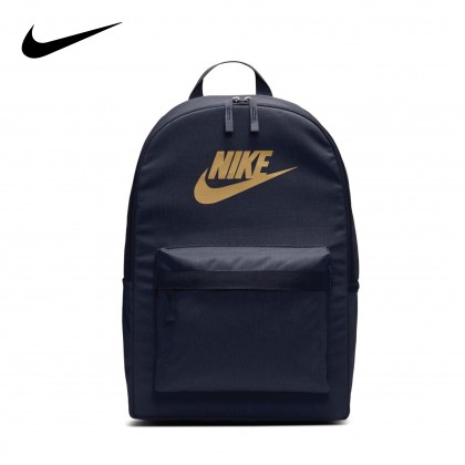 Nike Heritage 2.0 Backpack (Obsidian / Metallic Gold)