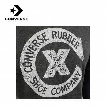 Converse Archive Inspired Logo Tee (Grey / White)