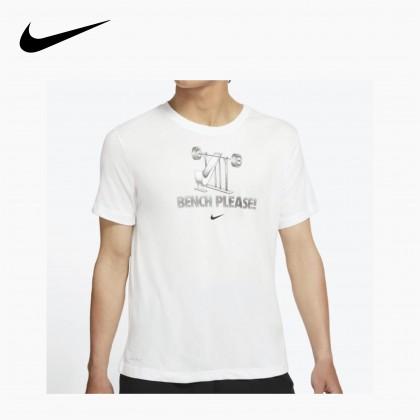 Nike Nike Dri-FIT Men's Training T-Shirt (White)