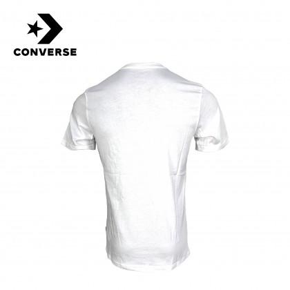Converse Destroyed Star Chevron Short Sleeve Tee (White)