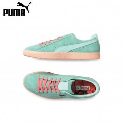 PUMA CLYDE SOUTH BEACH BISCAY (GREEN)-CLOSEOUT