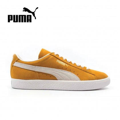 PUMA SUEDE 90681 (YELLOW)-CLOSEOUT