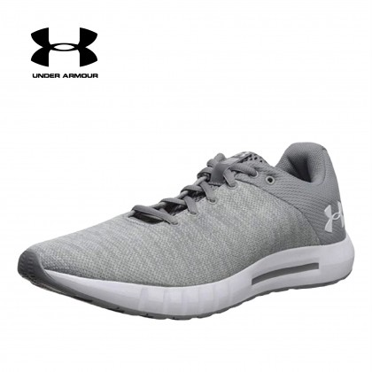 Under Armour Womens MICRO G PURSUIT TWIST(Grey)-CLOSEOUT
