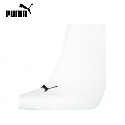 PUMA 1P Seasonal Crew Socks (White / Black)