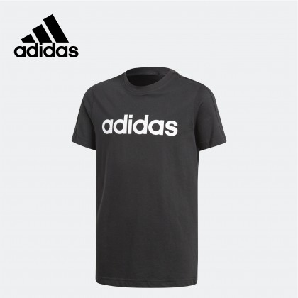 Adidas  Essentials Linear Tee (Black)