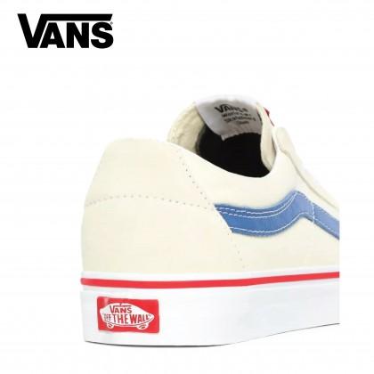 Vans Men UA Sk8-Low Classic (White/Navy)-SEASON21