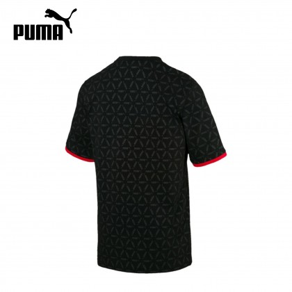 PUMA LUXE PACK ALL OVER PRINT TEE (Black / Red)